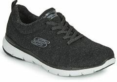 Zwarte Fitness Schoenen Skechers FLEX APPEAL 3.0 PLUSH JOY
