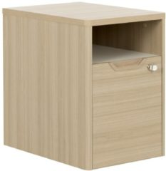 Gamillo Furniture Ladeblok Absolu 1 van 64 cm hoog in eiken
