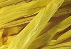 Raffia Folia bundel 50 gram citroengeel