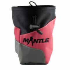Mantle - Kletter Chalk Bag Crimpy - Pofzakje zwart/roze