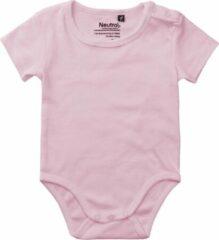 Roze Neutral® organic babyrompertje fairtrade