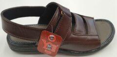 S.F. Shoes Heren Sandalen Heren Wandelsandalen Bruin Maat 41
