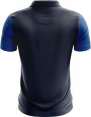 Jartazi Polo Bari Heren Polyester Blauw/zwart Maat M