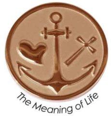Quoins QMOZ-07-M-R Munt The Meaning of Life rosekleurig