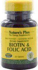 Biotin & Folic Acid, 30 Tablets - Nature's Plus