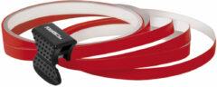 Rode Universeel Foliatec PIN-Striping voor velgen rood - Breedte = 6mm: 4x2,15 meter