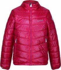 Rode De Freezeway II geïsoleerde, gewatteerde wandeljas van Regatta voor Kinderen sportjas met waterafstotende afwerking donker roze kersen