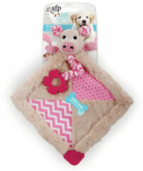All For Paws Blanky Piggy - Hondenspeelgoed - 38x34x8 cm Multi-Color