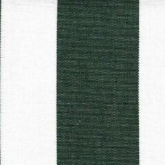 Acrisol Listado Verde Oscuro 17 stof groen wit gestreept per meter buitenstoffen, tuinkussens, palletkussens