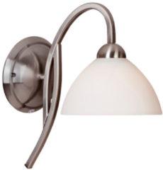 Witte Lightning - landelijke wandlamp hangend 1-l. Glas - zilver