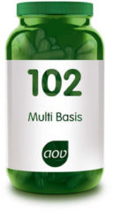 AOV 102 Multi Basis - 120 vegacaps - Multivitaminen - Voedingssupplementen
