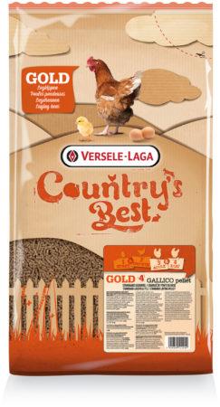 Afbeelding van Versele-Laga Country`s Best Gold 4 Gallico Pelletlegkorrel - Kippenvoer - 5 kg Vanaf 1e Ei