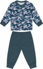 Beeren Baby Pyjama Camouflage/Petrol 62/68
