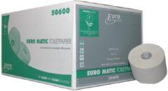 Zwarte Euro Products Toiletpapier 50600 Ecolabel doprol 36stuks 1laags 150 meter (P50600)
