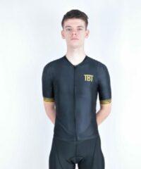 Gouden TBT Sportwear TBT Classic Fietsshirt Zwart/Aztec Man Maat S