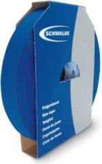 "Schwalbe 880001 ""Gewebefelgenband 50m-Rolle"" selbstklebend, Breite: 19 mm, blau (50 m Rolle)"
