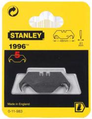 Stanley vervangingsmes 19, 50x19mm, mesvorm trapezium haak punt