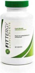 Fittergy Supplements - Antioxidantencomplex - Cell Shield - 90 capsules - Anti-oxidanten - voedingssupplement