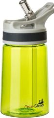 Acecamp Tritan Springdeckel Waterfles 350 Ml Groen
