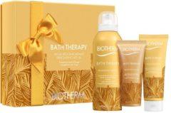 Biotherm Geschenksets Für Sie Bath Therapy Delighting Blend Set Medium Delighting Blend Body Cleansing Foam 200 ml + Delighting Blend Body Hydrating C
