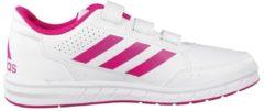 Rosa Sportschuhe AltaSport CF K mit einstellbaren Riemen BA9450 adidas performance ftwr white/bold pink/ftwr white