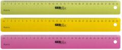 Liniaal Aristo GEOflex 30cm neon kleuren