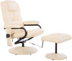 HOMCOM TV Sessel Massagesessel mit Hocker und Wärmefunktion Massagesessel Fernsehsessel Relaxsessel Sessel