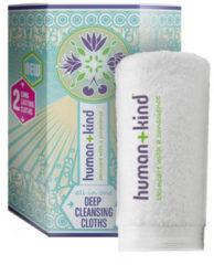 Merkloos / Sans marque Human+Kind Deep Cleansing Cloth (2 cloth in 1 pack ) Vegan