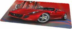 Rode Kimano Gaming muismat - Ferrari - 27 x 36 cm