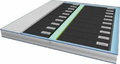 Witte Master Matras 160x210 – Persoonlijke indeling – 10 zones achteraf aanpasbaar
