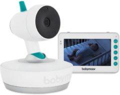 Witte Babymoov Baymoov video babyfoon Yoo Moov - op afstand draaibaar
