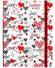 Nobrand Diario 16 mesi Love 11x15,3 cm