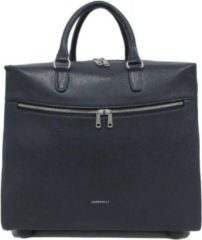 Gigi Fratelli Dames Leren Laptop Trolley 15.6 inch Romance Business ROM8015 Blauw