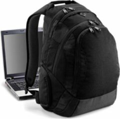 Merkloos / Sans marque Laptop backpack zwart 26L