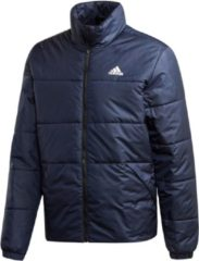 Donkerblauwe Adidas BSC 3-Stripes Insulated Winterjas Heren