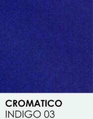Donkerblauwe Transparant vellen notrakkarton Cromatico indigo 03 A4 100 gr.