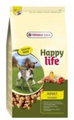 Versele-Laga Happy Life Adult - Kip - Hondenvoer - 15 kg