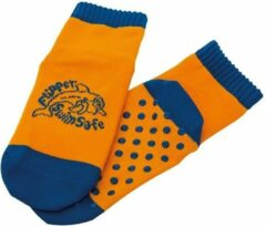 Eberhard Faber EF-1052 Flipper Swimsafe Aquasokken met Anti-Slip Zolen 23-26 Oranje/Blauw