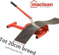 MacLean Laminaatsnijder - PVC knipper - 20cm breed - Voor Laminaat en PVC