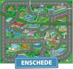 Speelkleed Enschede City-Play - Autokleed - Verkeerskleed - Speelmat Enschede