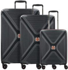 Paradoxx 4-Rollen Kofferset 3tlg. Titan black brushed
