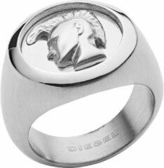 Diesel heren edelstaal Ring heren 56 Zilver 32011989