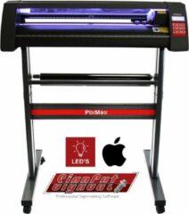 Zwarte MonsterShop Vinyl Cutter 720mm Mac Compatible, LED Light Guide & Signcut Pro Software