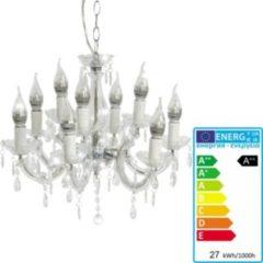 Heute-wohnen LED-Kronleuchter HW154, Hängeleuchte Lüster, 9-flammig 27W EEK A++