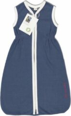 Marineblauwe With a touch of Rose – Slaapzak – Navy - Vanaf 21 maanden - Biologisch katoen – Fairtrade