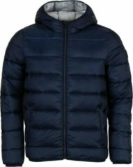 Marineblauwe Champion Hooded Winterjas Heren