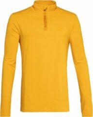 Gele Protest WILL Fleece Heren - Dark Yellow - Maat S