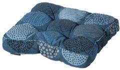 Universell Sitzkissen 47x47cm Bunt Blau Grasekamp Blau