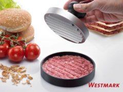 Zilveren Westmark Uno Hamburgerpers 11,5 x 11,5 x 8 cm - Aluminium - Kunststof