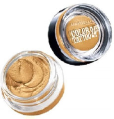 Gouden Maybelline Oogschaduw - Color Tattoo 05 Eternal Gold - 4 gr